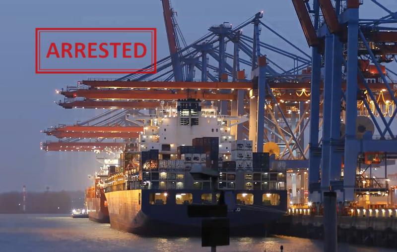 ship arrest malta